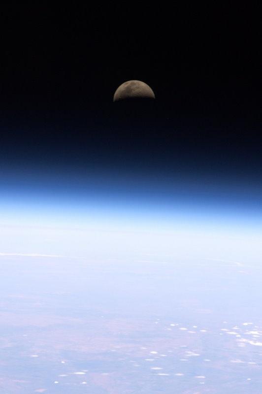 Moon over Belfast