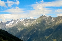 View from the Stubai Alps, Austria